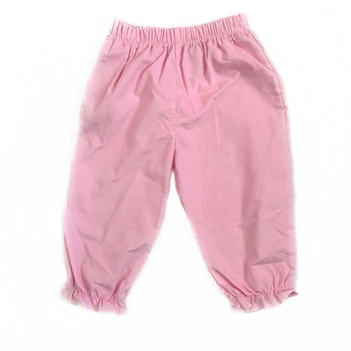 Banbury Pink Corduroy Girl Long Bloomer
