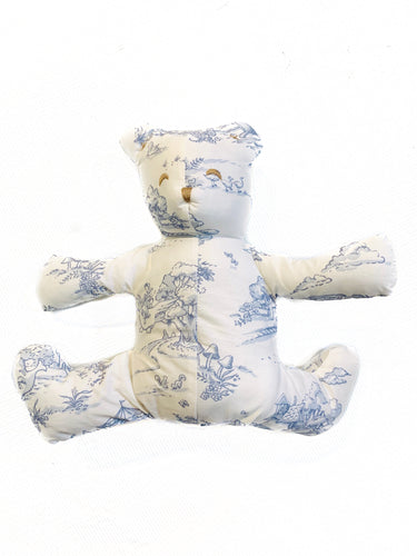 Maison Nola Toile Bear-Blue