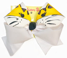 Two Sisters Tiger Face Bow