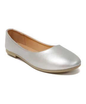Honey Bunny Silver Ballet Flat