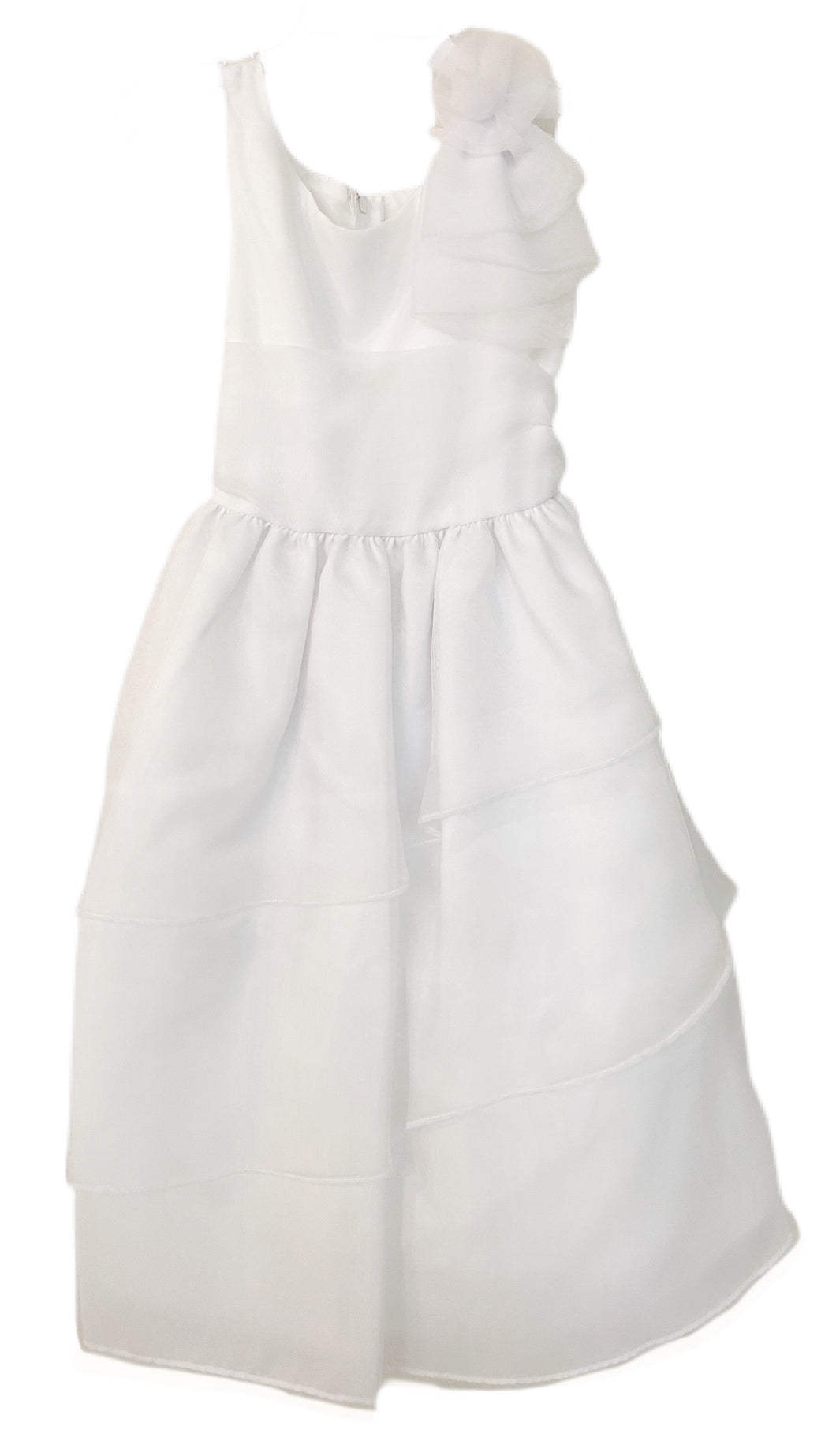 Sweet Kids Organza Three Layer Dress