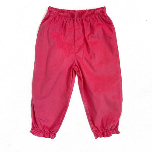 Banbury Fuschia Corduroy Girl Long Bloomer