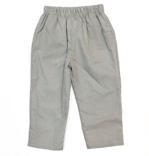 Banbury Cross Grey Gingham Pant
