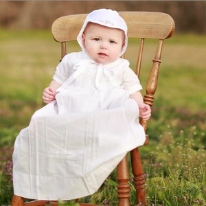 Feltman Boy Pleated Baptism Gown