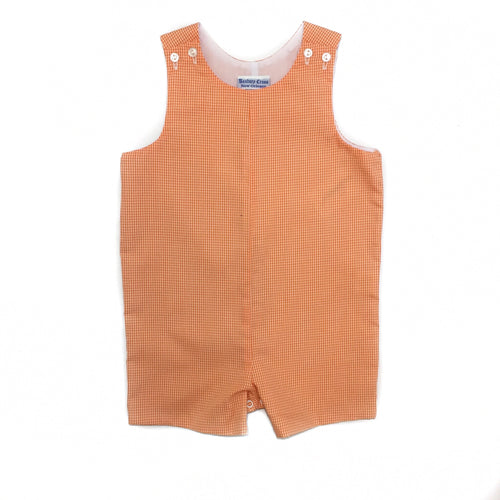 Banbury Basic Shortall Orange Check
