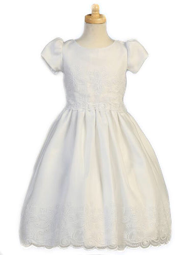 Swea Pea & Lilli Embroidered Organza Dress