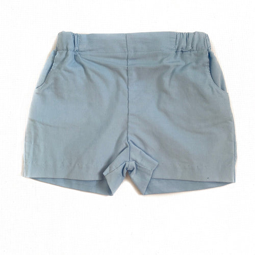 Banbury Cross Light Blue Corduroy Short