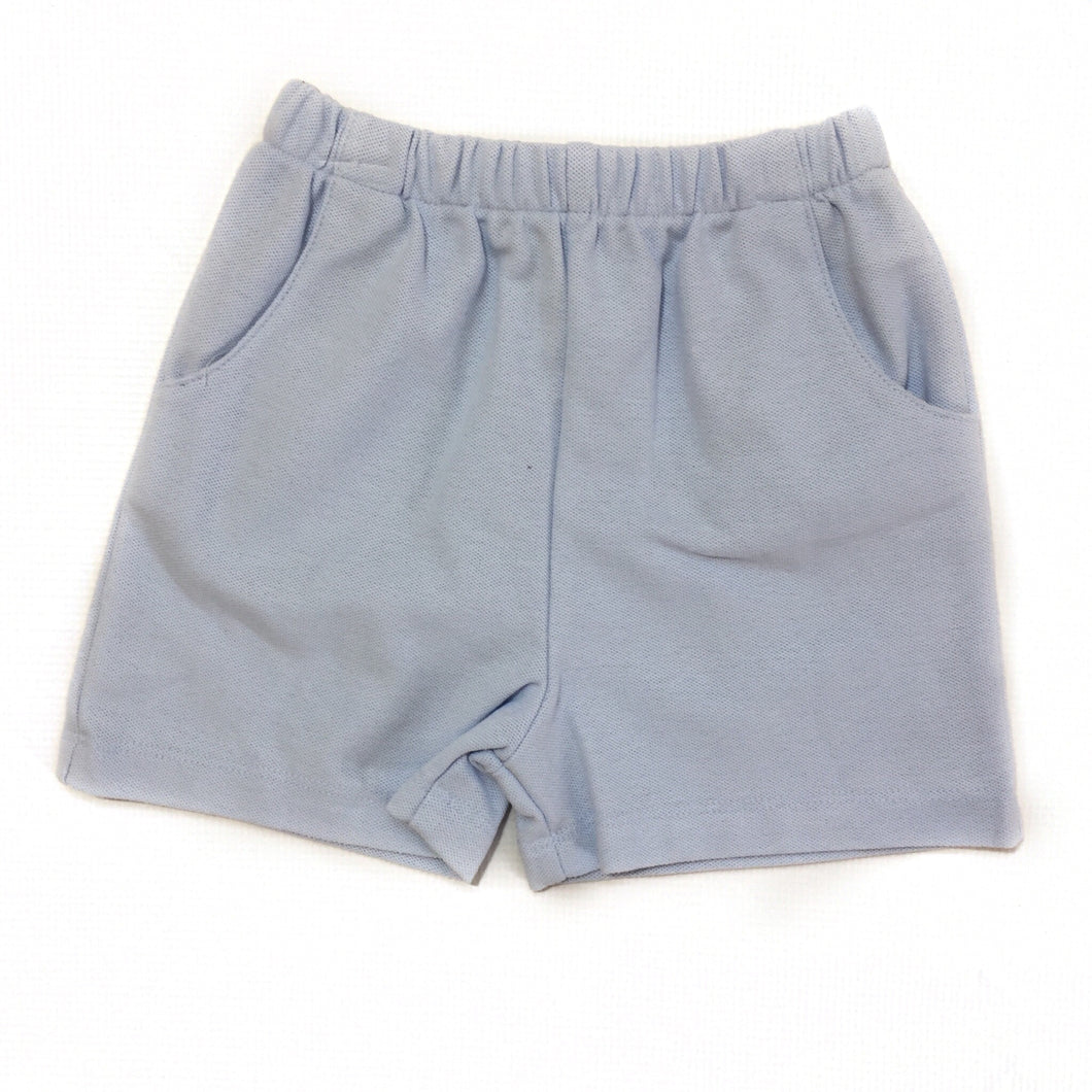 Banbury Cloud Pique Elastic Short