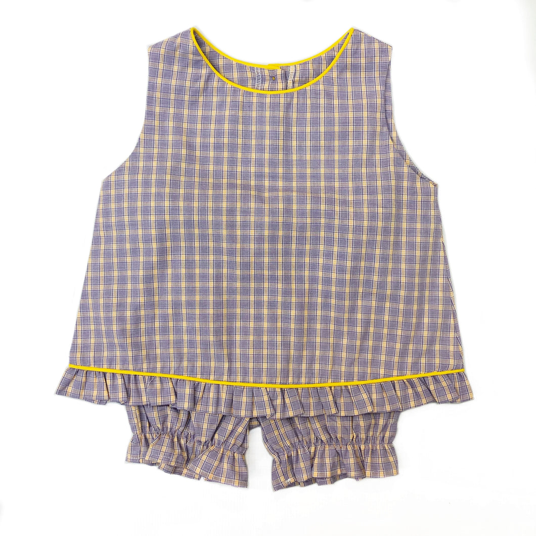 Funtasia Too Purple/Gold Plaid Popover