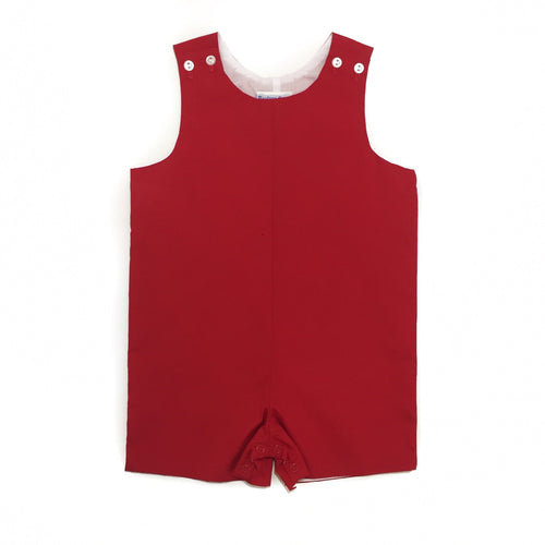 Banbury Basic Shortall Solid Red