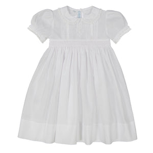 Feltman White Flower Girl Dress