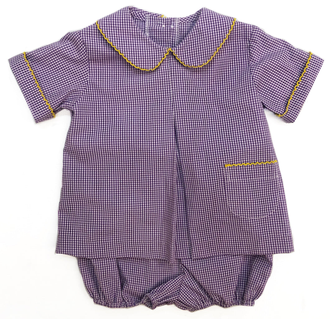Banbury Bloomer Set Purple & Gold