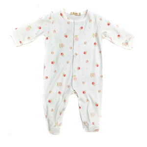 Baby Club Romantic Roses Footie