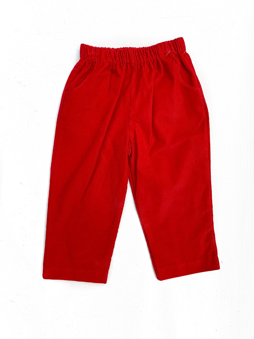Banbury Cross Red Corduroy Pant