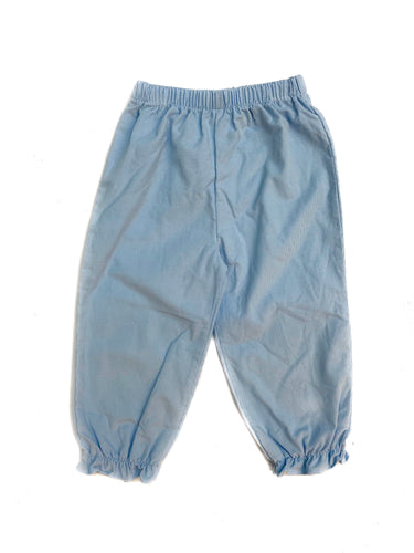 Banbury Light Blue Corduroy Girl Long Bloomer
