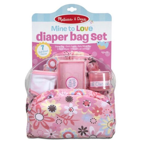 M&D Diaper Bag Set