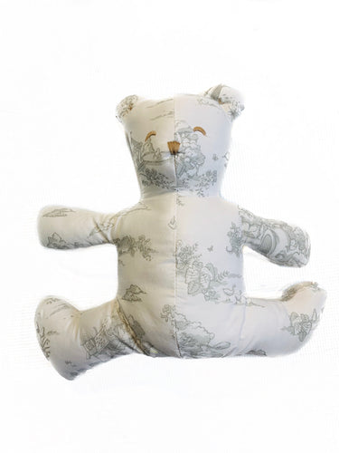 Maison Nola Toile Bear-Grey