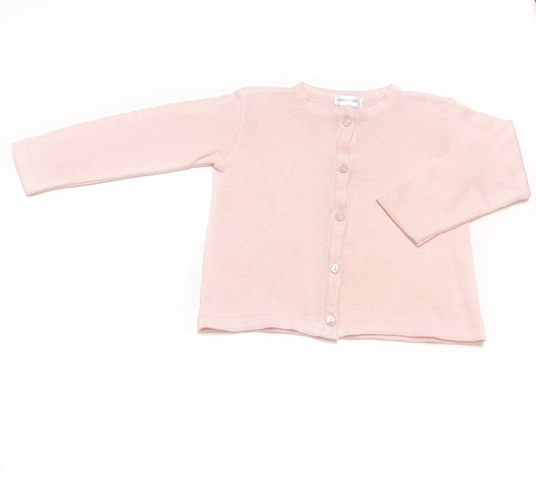 Dondolo Pink Simple Sweater