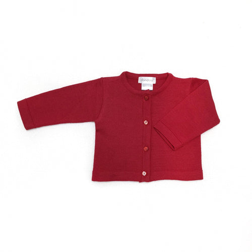 Dondolo Red Simple Sweater