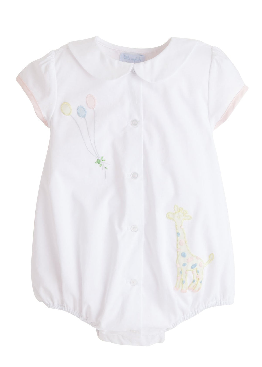 Little English Ella White Giraffe Bubble