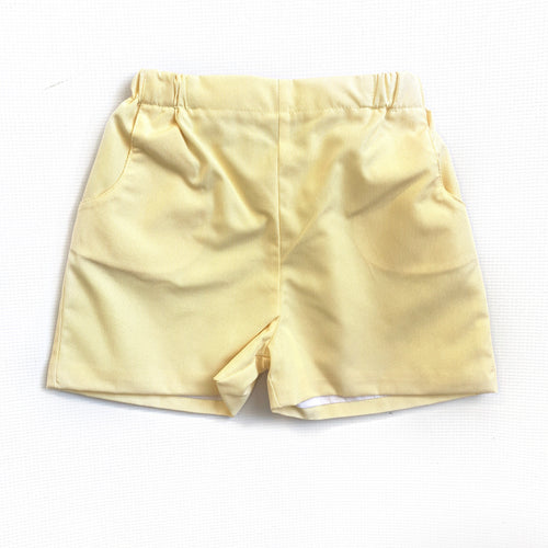 Banbury Cross Yellow Pincord Short
