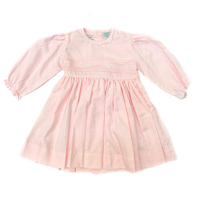 Carriage Boutique Pink L/S Brushed Dress