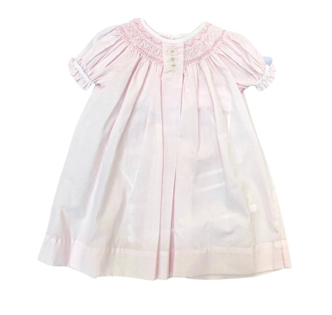 Petit Ami Pleat Front Daygown-Pink