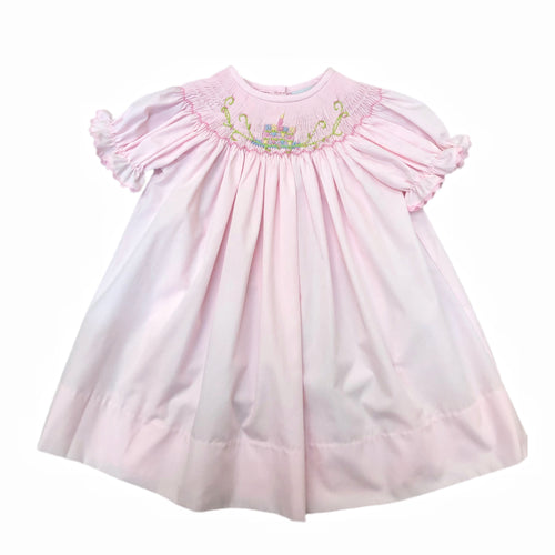 Delaney Pink Birthday Dress