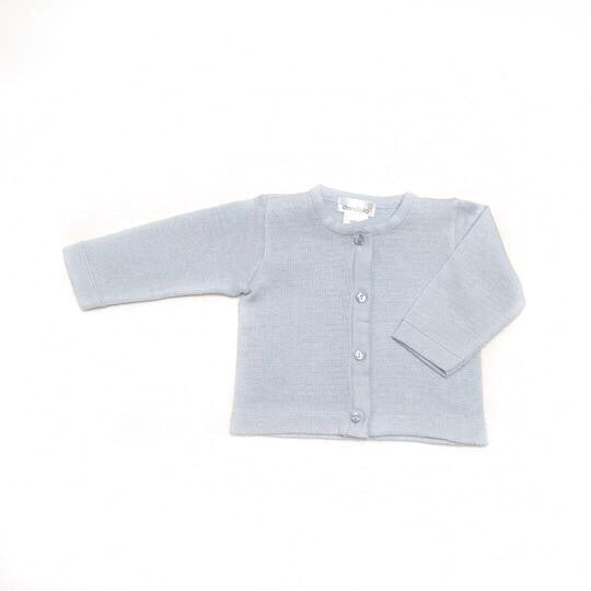 Dondolo Light Blue Simple Sweater