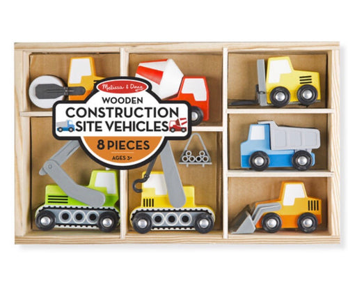 M&D Wooden Construction Site Vehicles