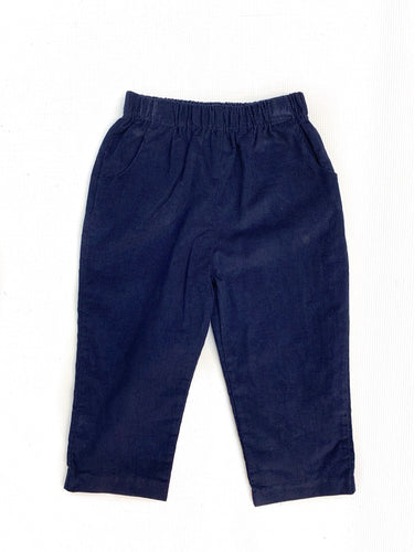 Banbury Cross Navy Corduroy Pant