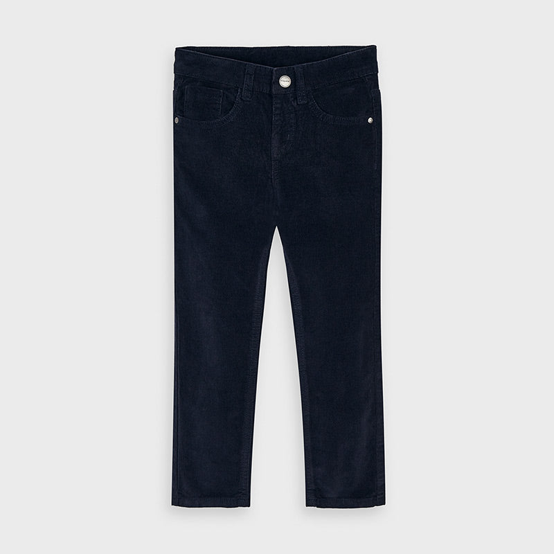 Mayoral Boys Navy Cord Pants