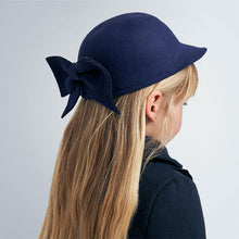 Mayoral Navy Bow Hat