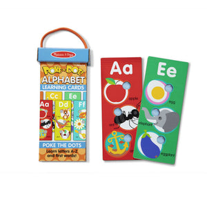 M&D Poke-a-Dot Ablphabet Learning Cards