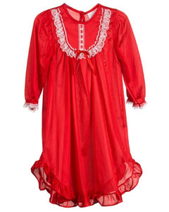 Laura Dare Red Nylon Gown