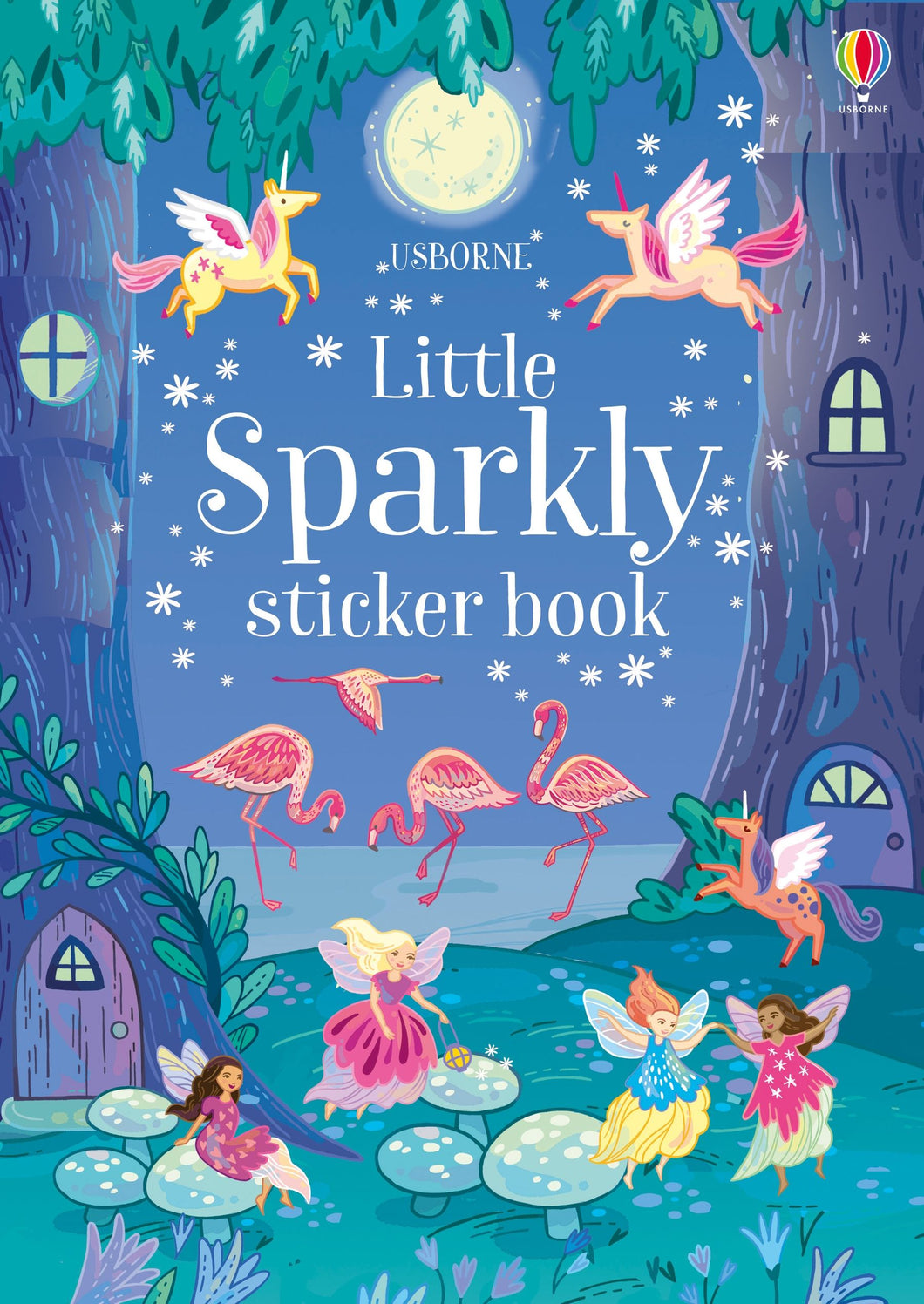 Little Sparkly Unicorn Sticker Book