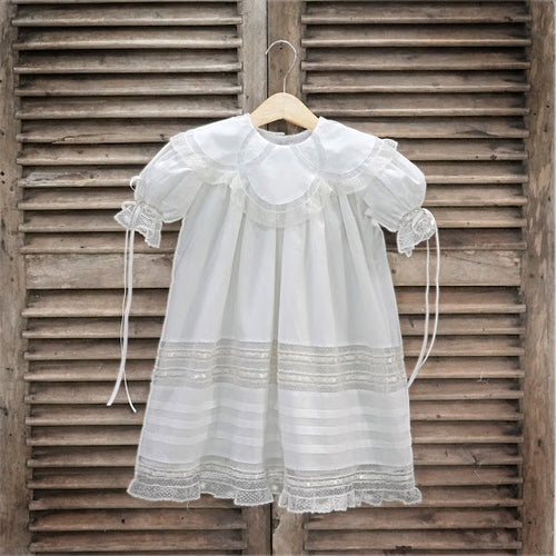 P&R Off White Charlie Ring Collar Dress