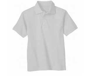 Universal Solid Polo Shirt White