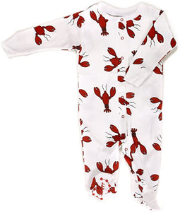 Lobster Footie Pajamas
