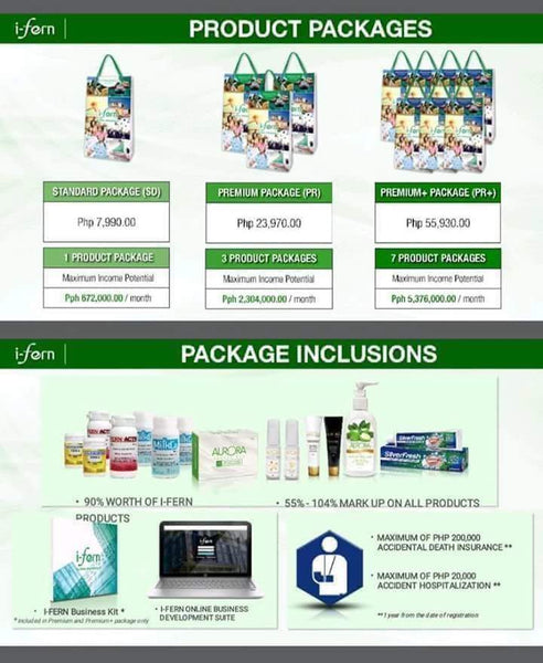 I Fern Packages