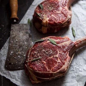 Victory Beef, Aged Imperial Red Wagyu Tomahawk Ribeye Steak