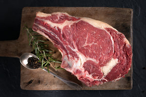 Victory Beef Aged Ribeye Steak - Bone In (2ea)