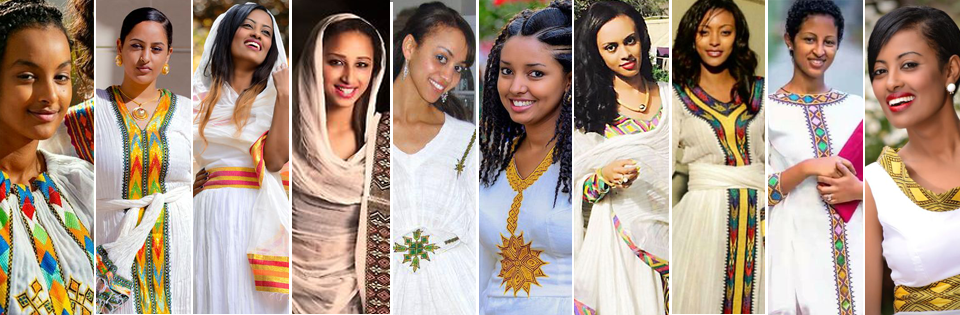 Konjo Ethiopian Eritrean Traditional Cloth & Dress