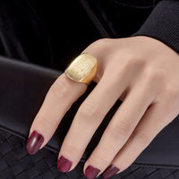Big ring Ethiopian gold ring for women
