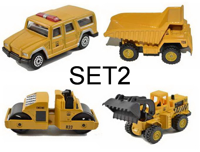 Mini Metal Alloy Diecasts & Toy Vehicles
