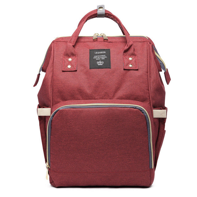 Fashion Large Capacity Diaper Backpack