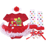 My First Christmas Baby 4 pcs Set