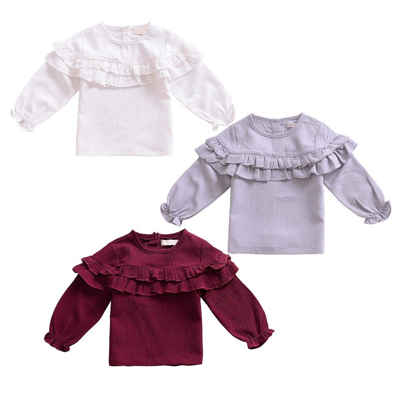 Baby Girl Cozy Cotton T-shirt