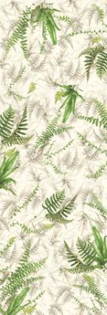 Stole - Ferns - natural