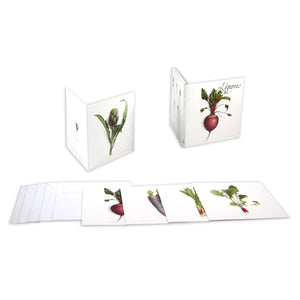 Box of 5 Cards - Vegetables